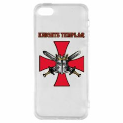 Чохол для iphone 5/5S/SE Knights templar helmet and swords