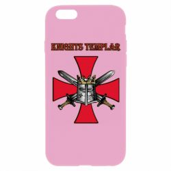 Чохол для iPhone 6/6S Knights templar helmet and swords