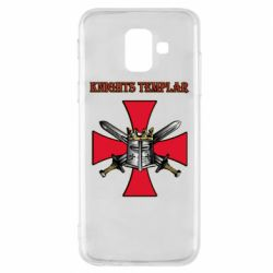 Чохол для Samsung A6 2018 Knights templar helmet and swords