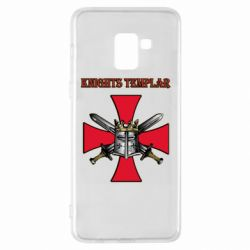 Чохол для Samsung A8+ 2018 Knights templar helmet and swords