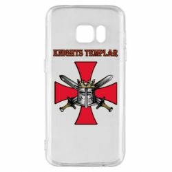 Чохол для Samsung S7 Knights templar helmet and swords