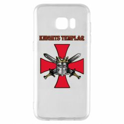 Чохол для Samsung S7 EDGE Knights templar helmet and swords