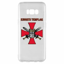 Чохол для Samsung S8+ Knights templar helmet and swords