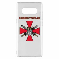 Чохол для Samsung Note 8 Knights templar helmet and swords