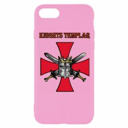 Чохол для iPhone 8 Knights templar helmet and swords