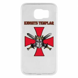 Чохол для Samsung S6 Knights templar helmet and swords