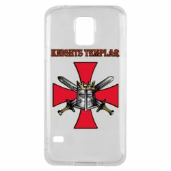 Чохол для Samsung S5 Knights templar helmet and swords