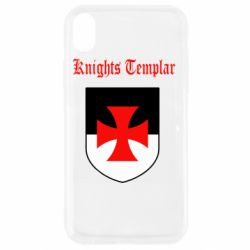 Чехол для iPhone XR Knights templar