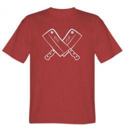 Мужская футболка Knives - FatLine