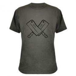 Камуфляжная футболка Knives