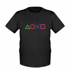 Дитяча футболка Кнопки PlayStation