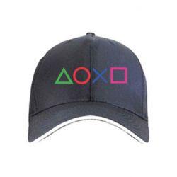 Кепка Кнопки PlayStation