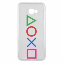 Чохол для Samsung J4 Plus 2018 Кнопки PlayStation