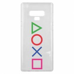 Чохол для Samsung Note 9 Кнопки PlayStation