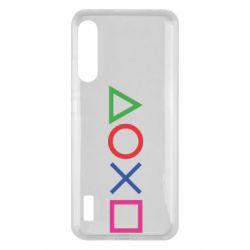 Чохол для Xiaomi Mi A3 Кнопки PlayStation