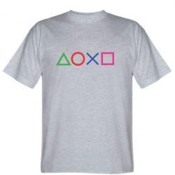 Чоловіча футболка Кнопки PlayStation