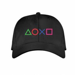 Дитяча кепка Кнопки PlayStation