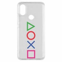 Чохол для Xiaomi Mi A2 Кнопки PlayStation