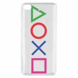 Чохол для Xiaomi Mi 5s Кнопки PlayStation