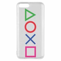 Чохол для Xiaomi Mi6 Кнопки PlayStation
