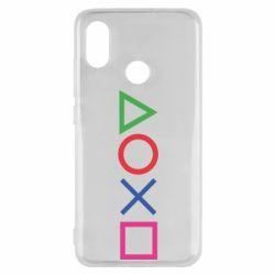 Чохол для Xiaomi Mi8 Кнопки PlayStation