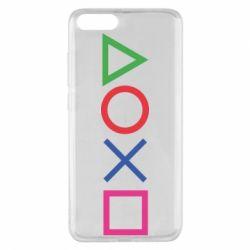 Чохол для Xiaomi Mi Note 3 Кнопки PlayStation