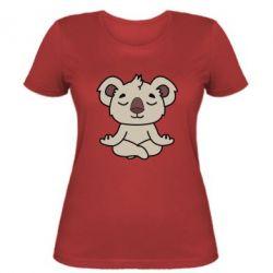 Женская футболка Koala
