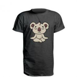 Удлиненная футболка Koala