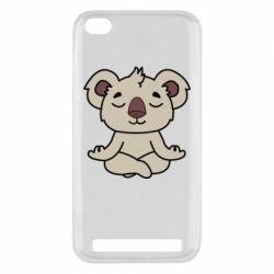 Чехол для Xiaomi Redmi 5a Koala