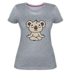 Женская стрейчевая футболка Koala