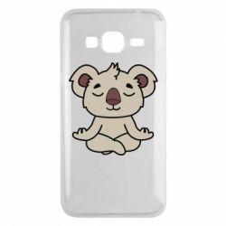 Чехол для Samsung J3 2016 Koala