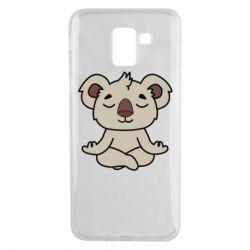 Чехол для Samsung J6 Koala