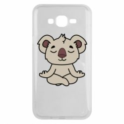 Чехол для Samsung J7 2015 Koala