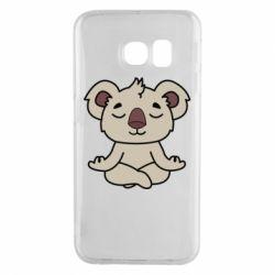 Чехол для Samsung S6 EDGE Koala