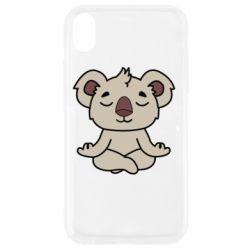 Чехол для iPhone XR Koala