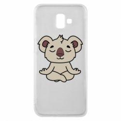 Чехол для Samsung J6 Plus 2018 Koala