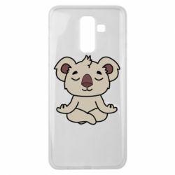 Чехол для Samsung J8 2018 Koala