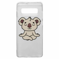 Чехол для Samsung S10+ Koala