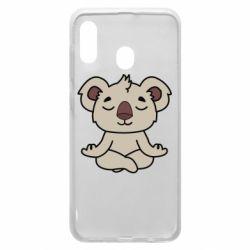 Чехол для Samsung A20 Koala