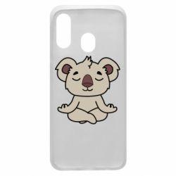Чехол для Samsung A40 Koala