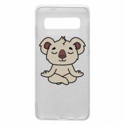 Чехол для Samsung S10 Koala