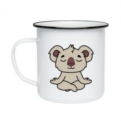 Кружка эмалированная Koala