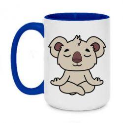 Кружка двухцветная 420ml Koala