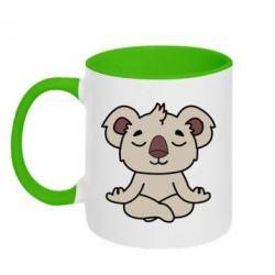 Кружка двухцветная 320ml Koala