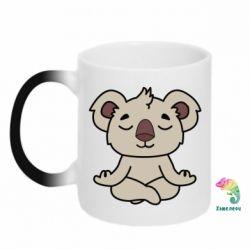 Кружка-хамелеон Koala