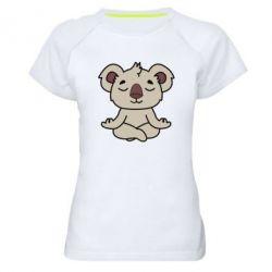 Женская спортивная футболка Koala