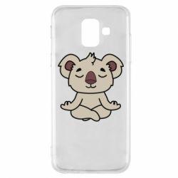 Чехол для Samsung A6 2018 Koala