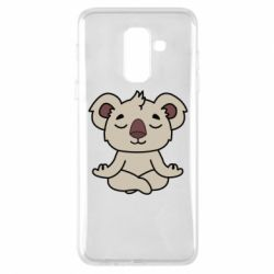 Чехол для Samsung A6+ 2018 Koala