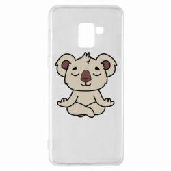 Чехол для Samsung A8+ 2018 Koala