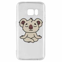 Чехол для Samsung S7 Koala